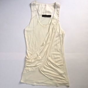 The Limited ivory racerback tank size XS